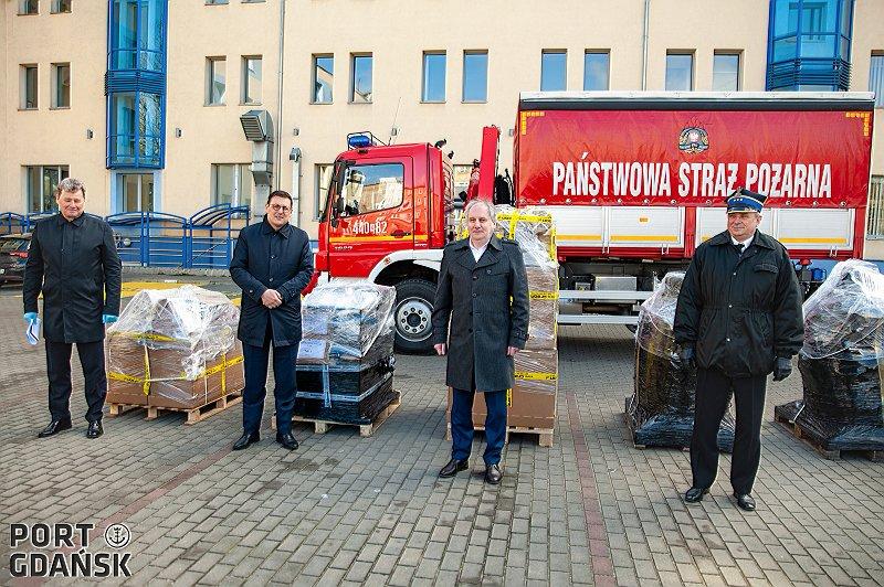 Port Gdańsk aktywnie wspiera walkę z koronawirusem!