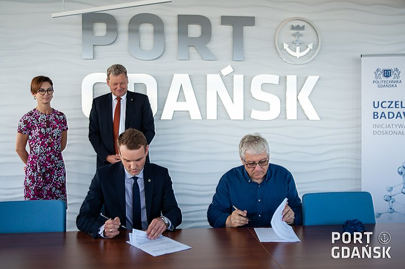 Agreement between Gdansk University of Technology and the Port Gdansk