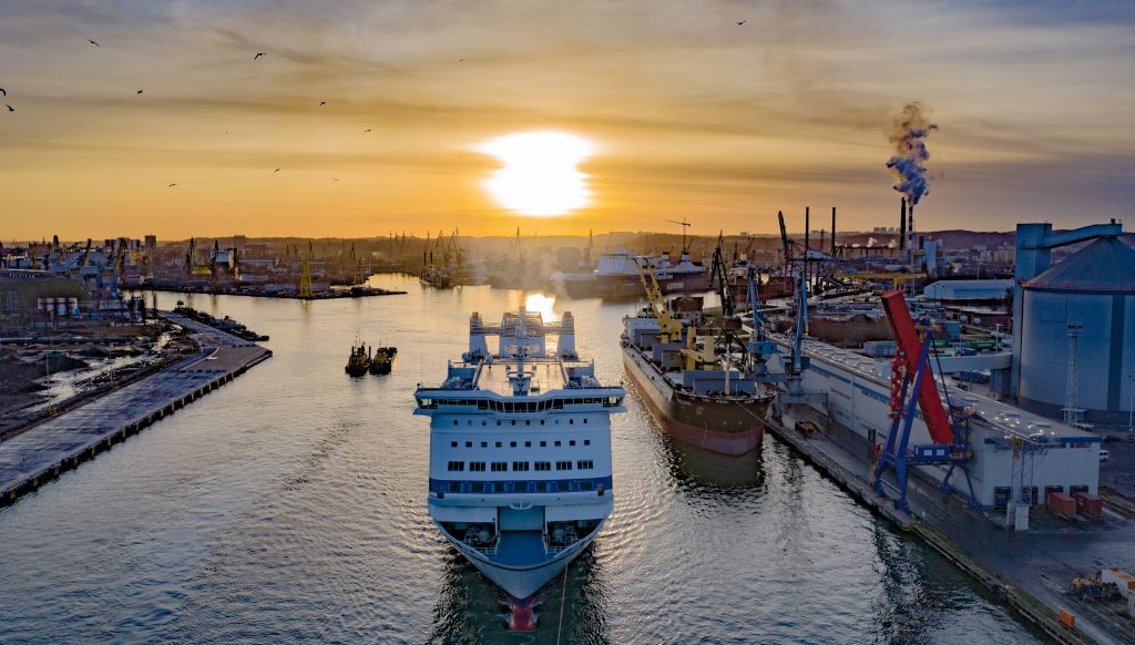 Hard work and joining the top 20 European ports