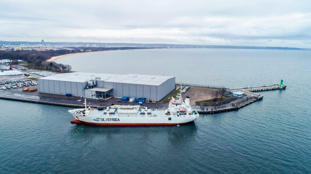 The first delivery of fish to the Port of Gdańsk after Brexit