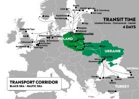 transport corridor Gdansk - Odessa