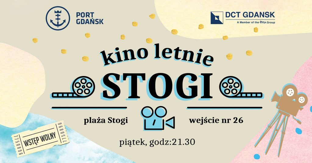 Kino z widokiem na Port Gdańsk startuje 16 lipca!