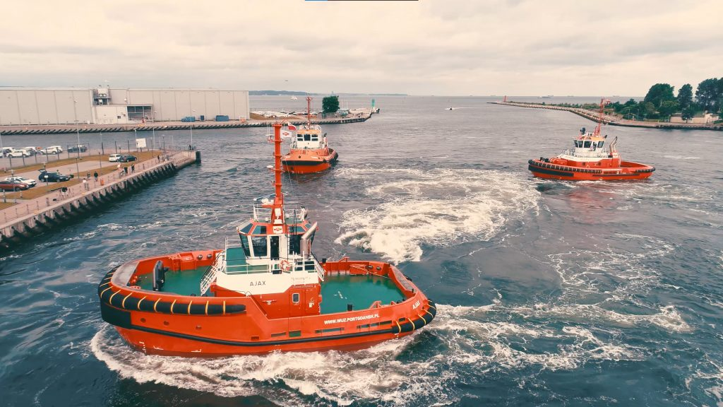 """""""FLORIAN"""" Port Fire Brigade will take care of safety in the Port of Gdańsk"""