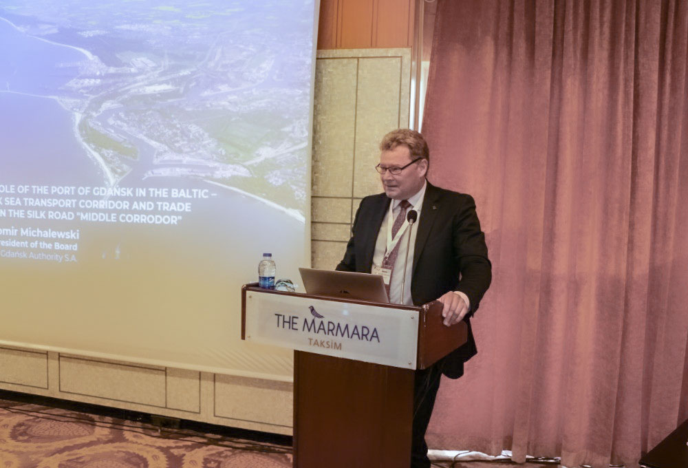 Port of Gdańsk Authority SA visited Turkey: Talks on the North–South transport corridor continue.